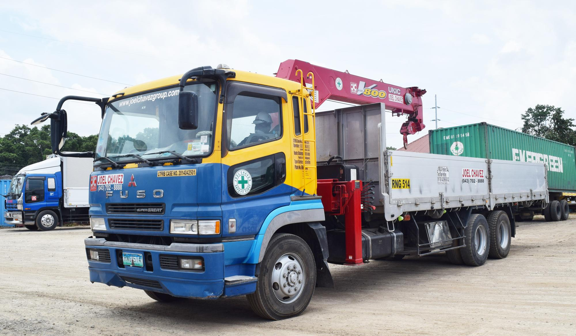 Boom Truck Joel Chavez Group Of Companies